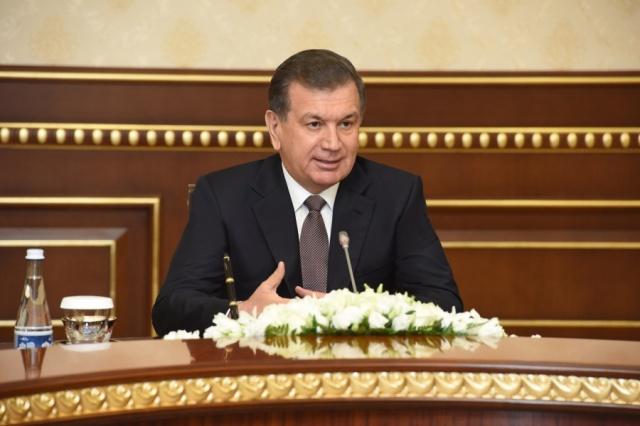 Ўзбекистон Президенти Туркия ташқи ишлар вазирини қабул қилди