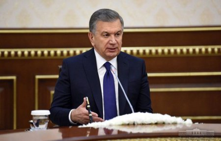 Шавкат Мирзиёев Европа тикланиш ва тараққиёт банки президентини қабул қилди