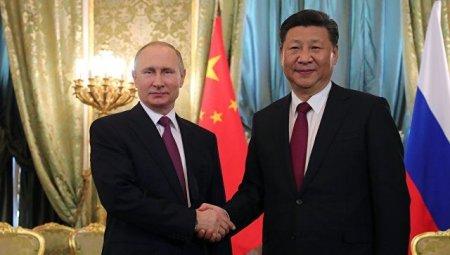 Путин Си Цзинпин билан учрашув ўтказди